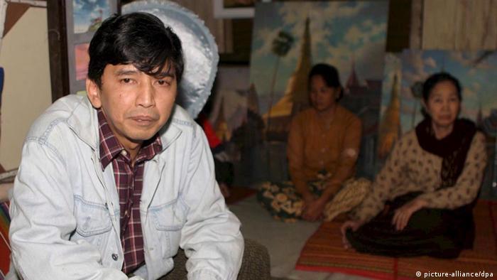 Myanmar Min Ko Naing Studentenführer Freilassung