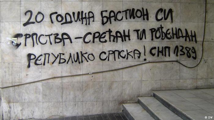Graffiti in Belgrad