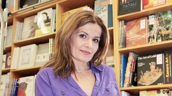 Albanian author Lindita Arapi