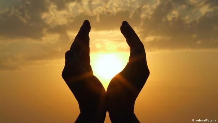 sun in hands © velora #4945175