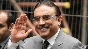 Presiden Pakistan Asif Ali Zardari