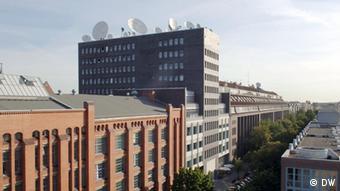 DW's broadcasting center, Voltastrasse Berlin