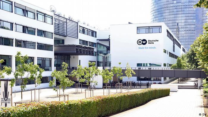 Das Funkhaus der Deutschen Welle in Bonn