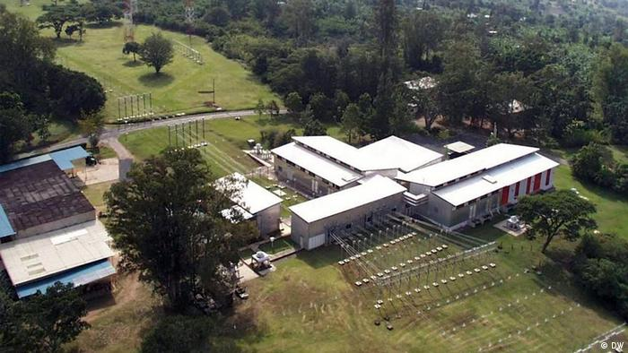 DW's relay station in Kigali