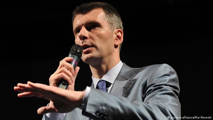 میخائیل پروخوروف، میلیارد روس و نامزد انتخابات ریاست جمهوری