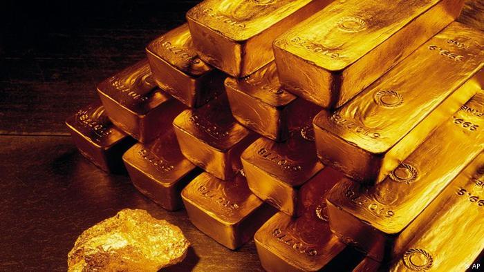 gold bars (Foto:Newmont Mining, File /AP/dapd)