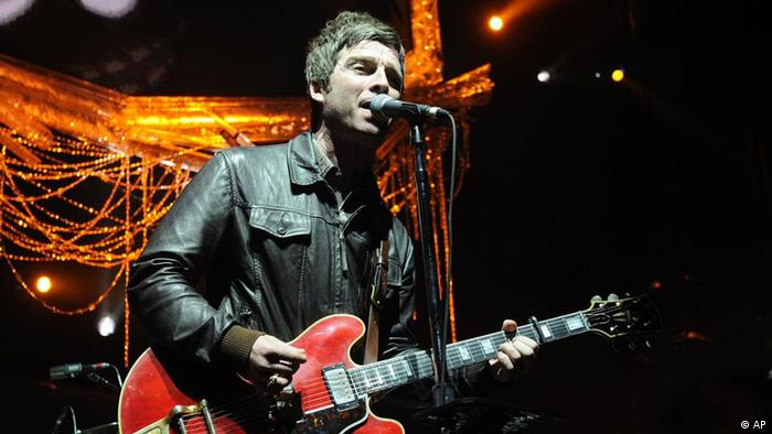 Noel Gallagher von der Band Oasis (AP)