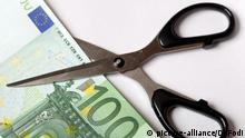 Symbolbild Schuldenschnitt Griechenland