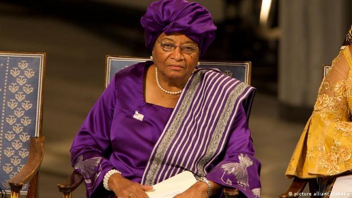 Ellen Johnson Sirleaf foi distinguida com o Prémio Nobel da Paz em 2011