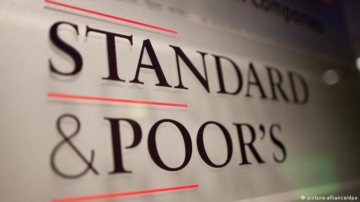 логотип гентства Standard & Poor's