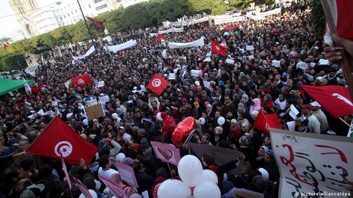 Tunesien begeht Jahrestag der Revolution