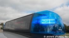 Symbolbild Polizei Blaulicht