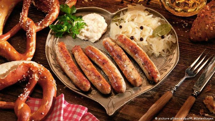 Нюрнбергские колбаски