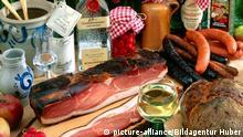 Essen in Deutschland Schinken Spezialitäten aus dem Schwarzwald