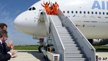 Airbus A380 Probefahrt