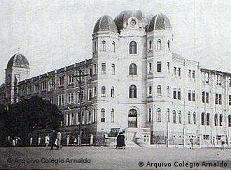 Colégio Arnaldo visto a partir da Avenida Brasil, em 1936