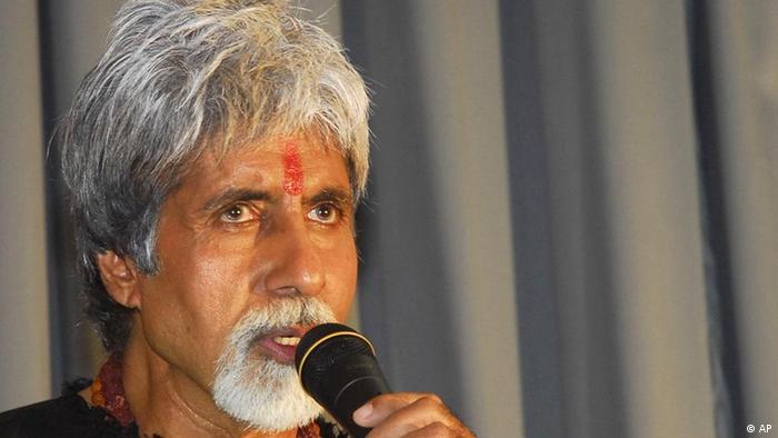 Amitabh Bacchan Bollywood Indien (AP)