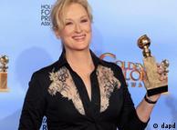 مریل استریپ جایزه گلدن گلوب بهترین هنرپیشه زن را از آن خود کرد
