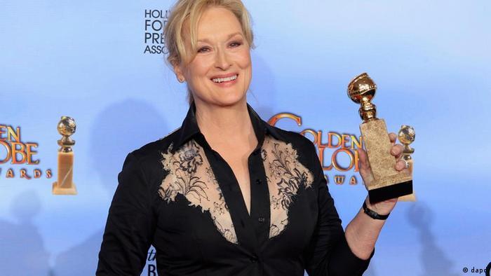 Meryl Streep 8. Altın Küresi'ni kazandı
