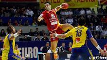 EM Handball Mazedonien gegen Schweden