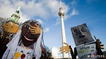 Occupy Demonstration in Berlin, Foto: REUTERS/Thomas Peter