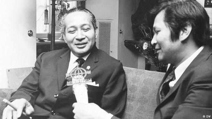 Interview mit Präsident Suharto