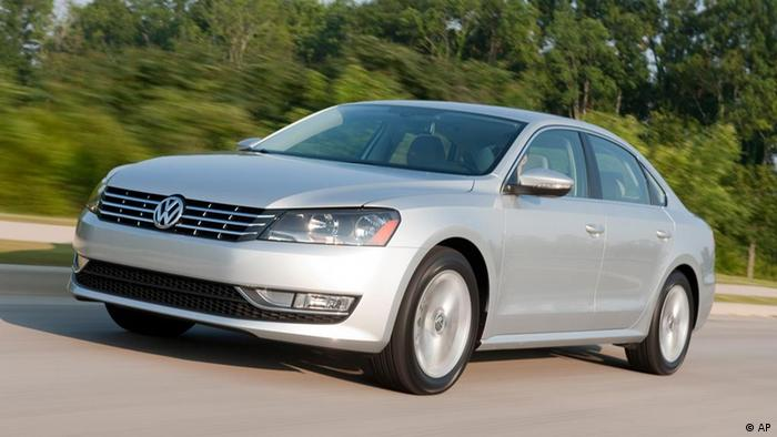 This undated image made available by Volkswagen shows the 2012 Volkswagen Passat. (AP Photo/Volkswagen, Guy Spangenberg)