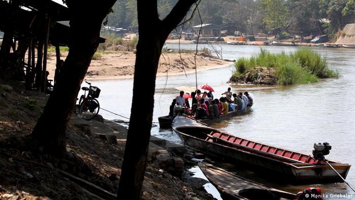 Illegaler Grenzverkehr zwischen Thailand und Burma