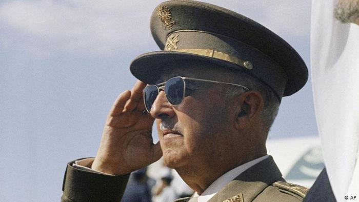 Spanish dictator Francisco Franco (1966)