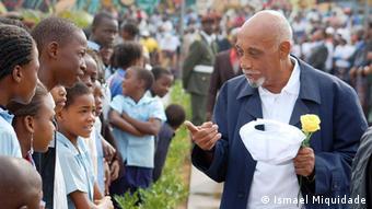 Marcelino dos Santos, historischer Führer von Mosambik (Ismael Miquidade)