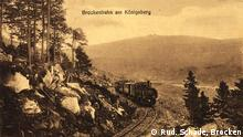 Brockenbahn am Königsberg