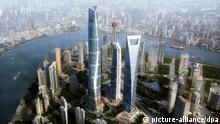 Fotomontage Shanghai Tower