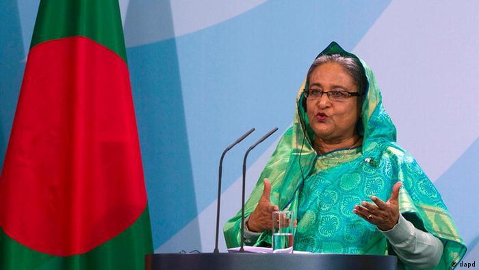 Deutschland Bangladesch Ministerpräsidentin Sheikh Hasina in Berlin (dapd)