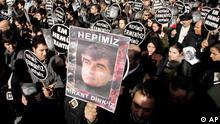 Hrant Dink Beerdigungszeremonie 2007