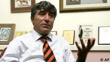 Türkisch-armenische Journalist Hrant Dink