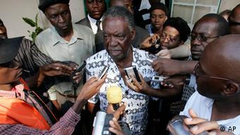 Zambia's Patriotic Front (PF) presidential candidate Michael Sata, (AP Photo/Themba Hadebe)