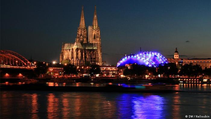 Köln, Kölner Dom. Deutschland entdecken, Relaunch. Copyright: DW / Maksim Nelioubin. DEMASTERNEU028