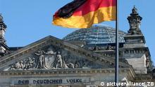 Bundestag Reichstagsgebäude in Berlin