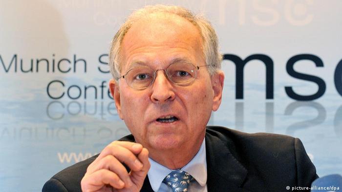 ولفگانگ ایشینگر، سرپرست کنفرانس امنیتی مونیخ