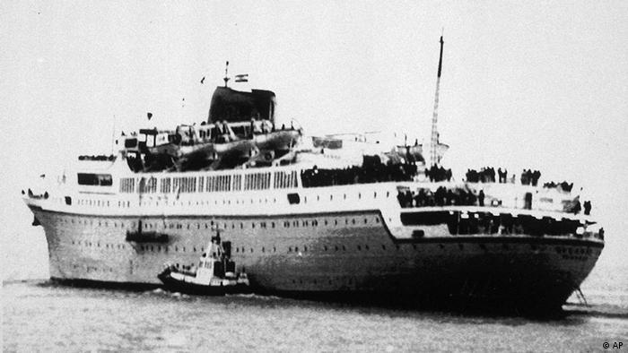Crucero griego Oceanos.