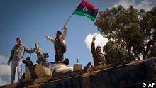 Libyen Bürgerkrieg Rebellen Panzer