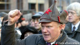 El comunista Gennadi Ziugánov, en una imagend e 2003.