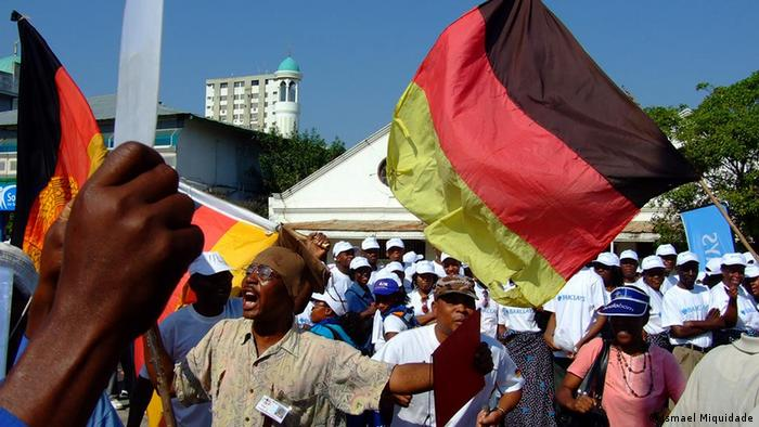 Mosambik Friedliche Demonstration