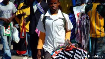 Mosambik Straßen Verkäufer