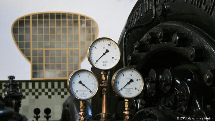 Машинный зал ГЭС в Хаймбахе