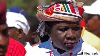 Luísa Diogo, ex-primeira ministra de Moçambique e quadro sénior do partido FRELIMO