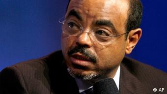 Meles Zeinawi Äthiopiens Premierminister (ddp images/AP Photo/Jason DeCrow)