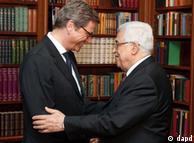 دیدار عباس و وزیر خارجه آلمان