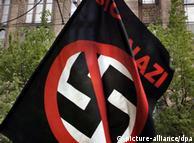 Stop nazi-banner