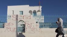 Tunesien Sidi Bouzid junge Frau